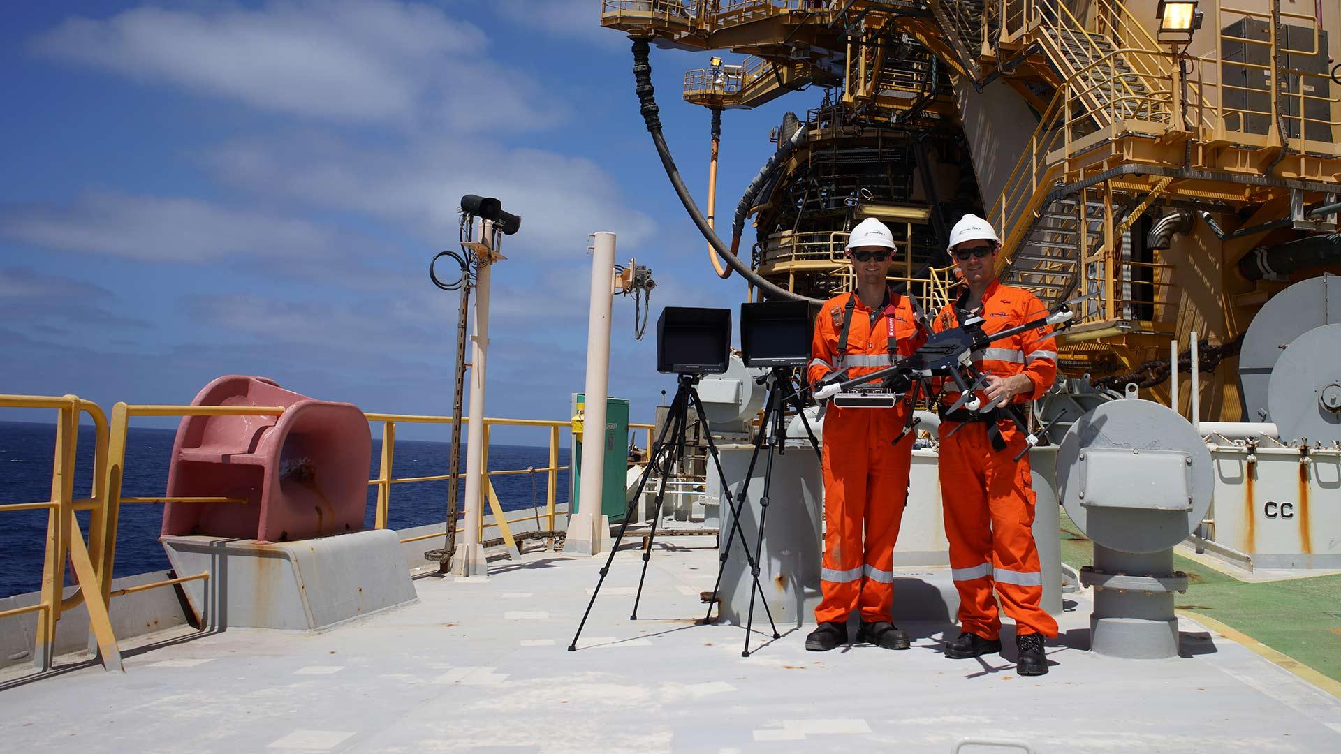 Oil and Gas Drone Inspection | Australia Wide | Autonomous Technology